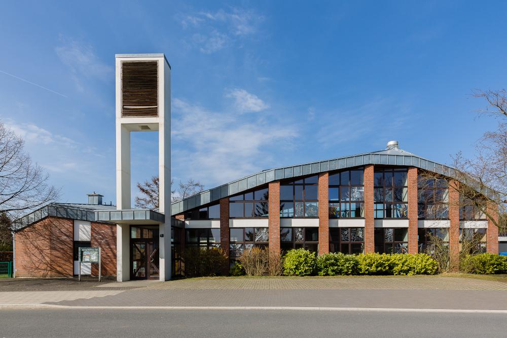 Bild von der Markuskirche in Velbert